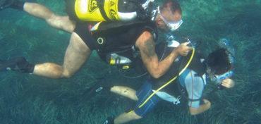 Imparare a immergersi