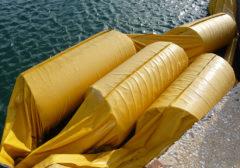 2013 – Enel Sulcis Portoscuso – Sistemazione e pulizia panne galleggianti interno ed esterno canale