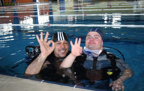 Corsi di attività natatorie per disabili